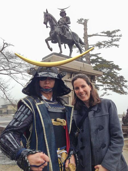 Date Masamune from The Sendai Welcome Squad, Date Busho-tai