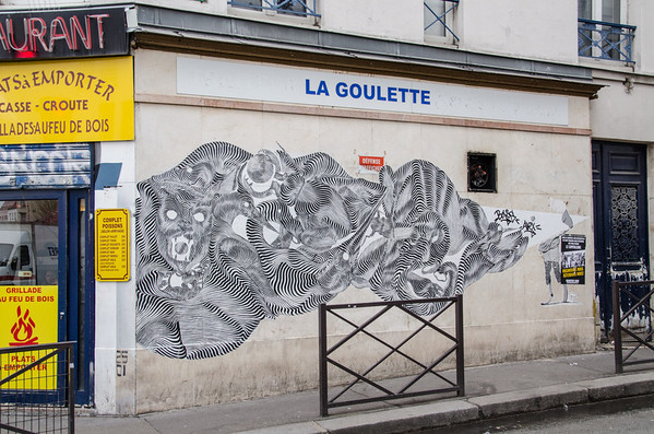Street art, Belleville - Paris