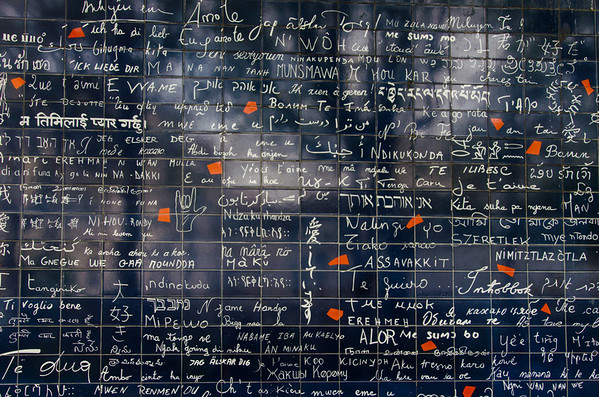 The I Love You Wall in Paris