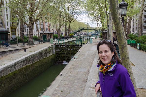 Canal St. Martin -- Amelie's Paris