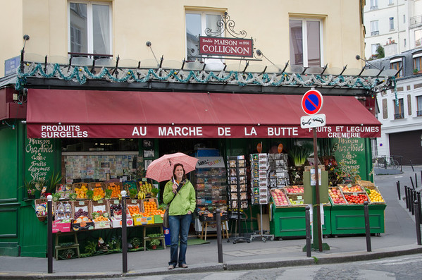 Collignon's Market, Paris - From the Film Amelie
