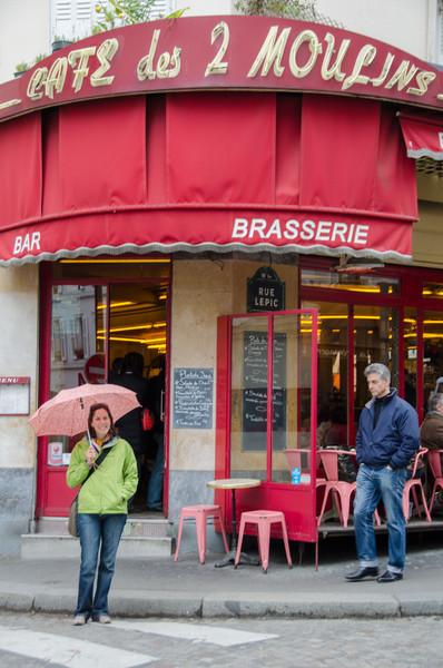 Amelie's Paris: Cafe des 2 Moulins