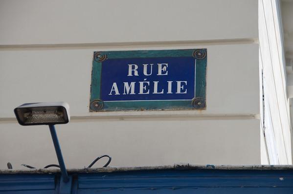 Rue Amelie, Paris